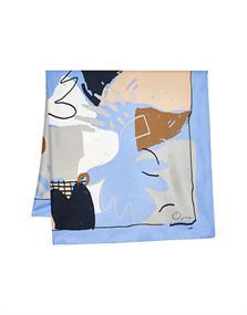 Acanvas scarf
