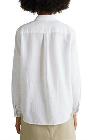 Aus Leinen-Mix: Hemd-Bluse