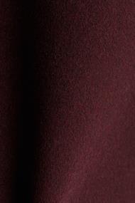 Aus Woll-Mix: Mantel mit Stehkragen