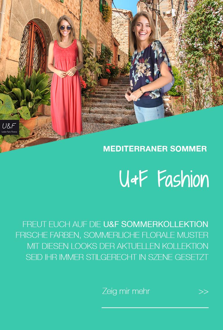 Banner U&F Fashion