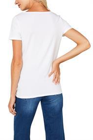 Basic-Shirt aus Baumwoll-Stretch