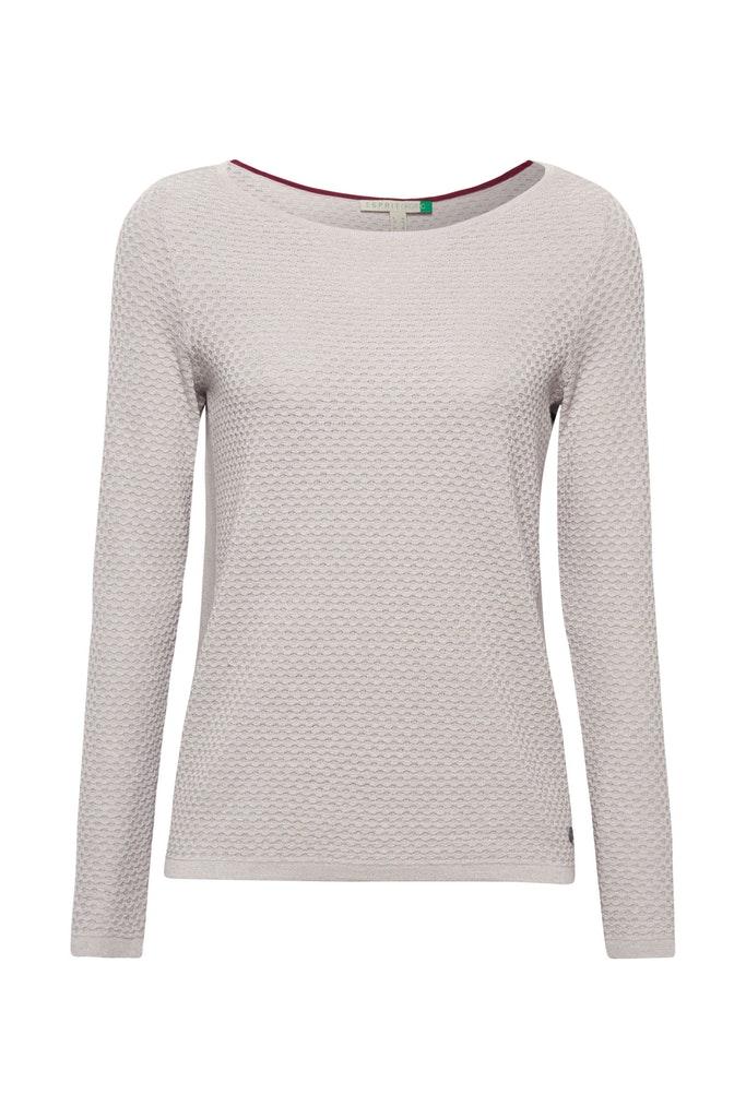 Baumwoll-Pullover mit Organic Cotton
