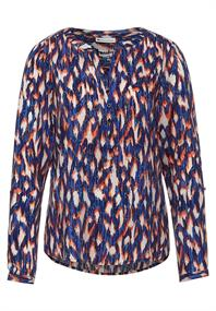 Bluse mit Ikat Muster