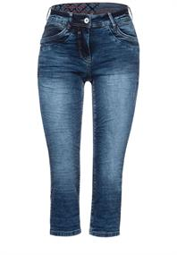 Capri Loose Fit Denim