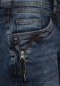 Casual Fit Denim mit Zipper