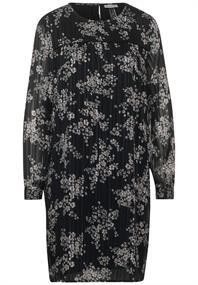 Chiffon-Kleid mit Blumen