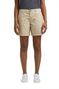 Chino-Shorts aus Pima Bio-Baumwolle/Stretch