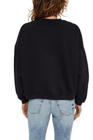 Cropped Sweatshirt mit Bio-Baumwolle