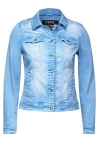 Denim Jacke im Colour Style