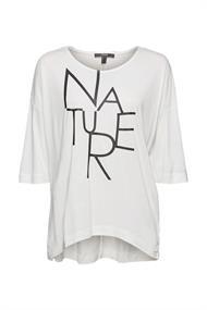 Fließendes T-Shirt aus LENZINGT ECOVEROT