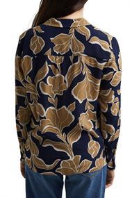 Flower-Bluse mit LENZINGT ECOVEROT