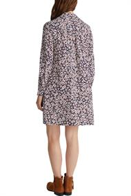 Hemdblusen-Kleid aus 100% Viskose