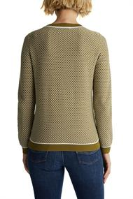 Jacquard-Pullover im 2-Tone-look
