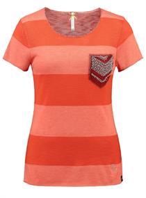 JANA - T-Shirt mit Blockstreifen