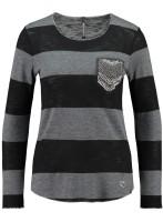 JANINA - Streifen-Pullover