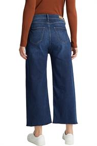 Jeans-Culotte im Washed-Look