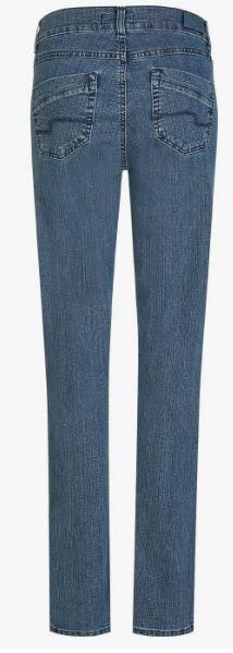 Jeans ,Dolly' mit geradem Bein , dark, Länge 30