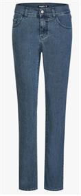 Jeans ,Dolly' mit geradem Bein , stone, Länge 28