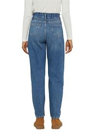Jeans mit Fashion-Fit und Gummibund
