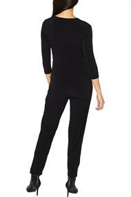 Jersey-Jumpsuit im Wickel-Look