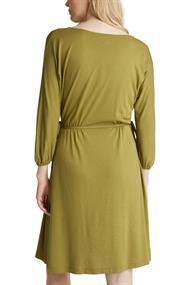Jersey-Kleid mit Schnür-Details