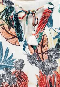 Kleid mit Hawaii Print