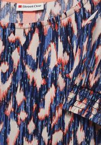 Kleid mit Ikat Print