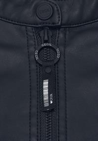 Kunstleder-Jacke aus PU