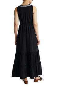 Maxi-Kleid mit Stickerei