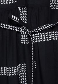 Midi Kleid mit Print