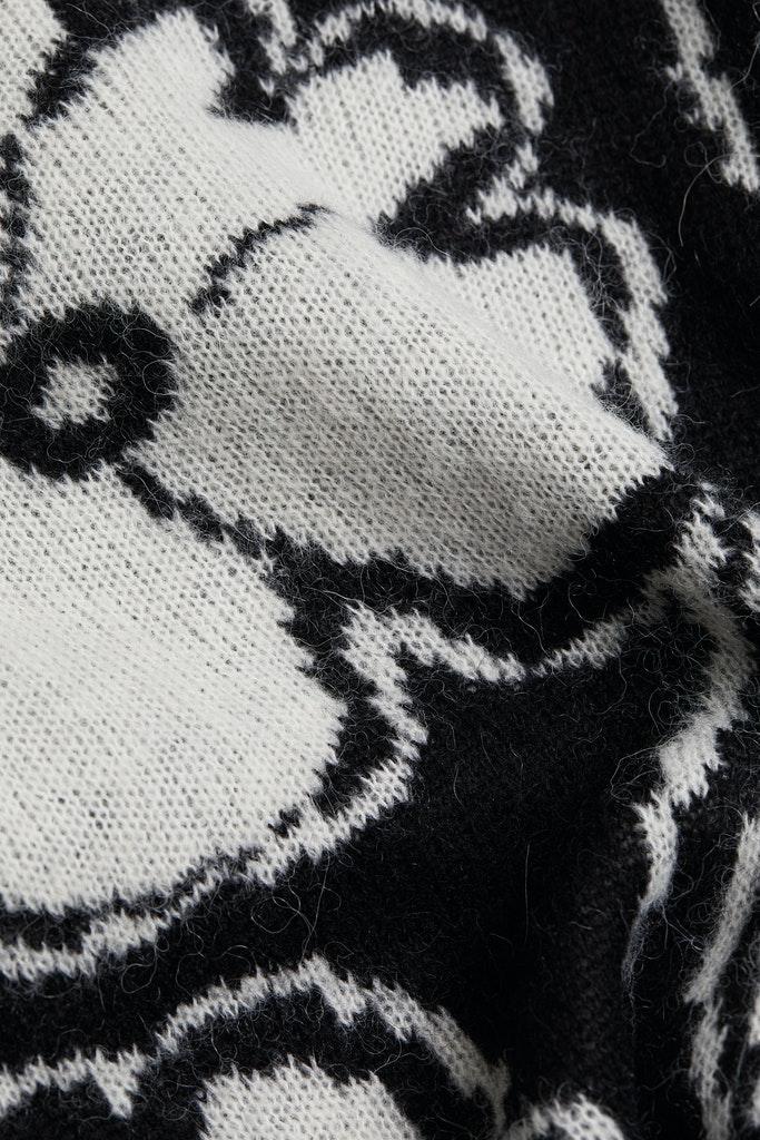 Mit Alpaka und Wolle: Jacquard-Pullover