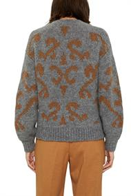 Mit Wolle/Alpaka: Jacquard-Pullover
