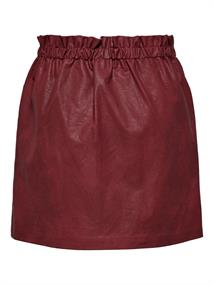 ONLDARLING FAUX LEATHER SKIRT CC OTW