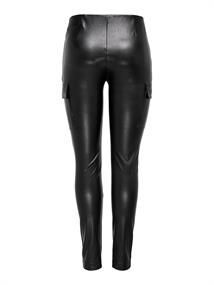 ONLMIRI FAUX LEATHER CARGO LEGGING PNT