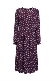 Print-Kleid aus aus LENZINGT ECOVEROT