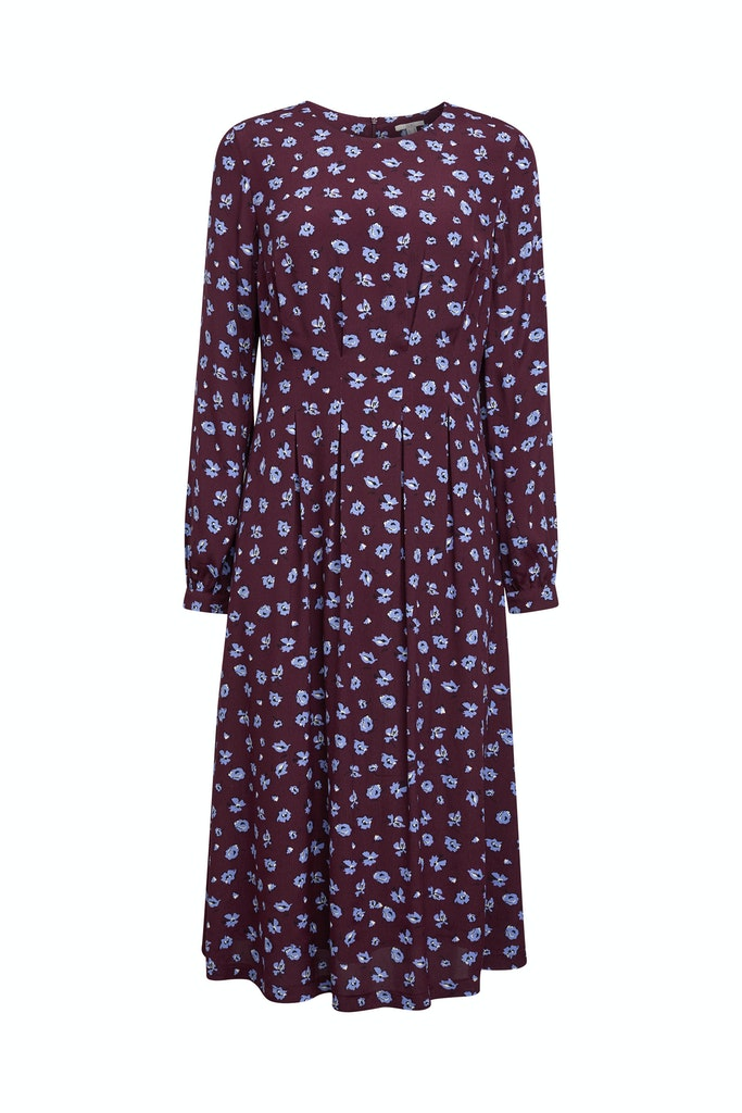 Print-Kleid aus LENZINGT ECOVEROT
