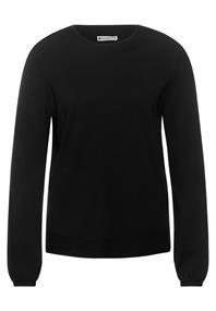 Pullover in Unifarbe