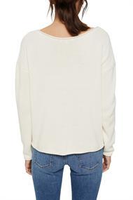 Pullover mit Rollkanten, 100% Bio-Baumwolle