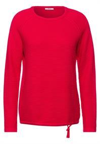 Pullover mit Strick-Struktur
