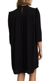 Rüschen-Kleid aus 100% Viskose