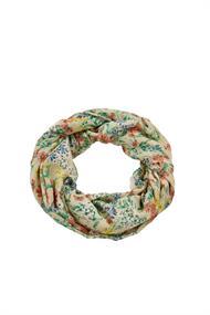 Recycelt: Loop-Schal mit Blumen-Print