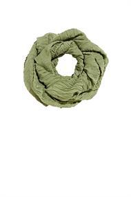 Recycelt: Schal mit Plissee-Falten