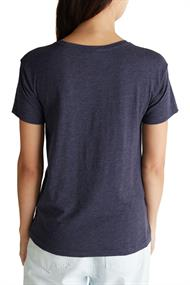 Recycelt: Shirt mit Organic Cotton