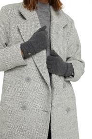 Recycelt: Strickhandschuhe aus Woll-Mix