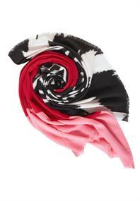 Schal im Colour Mix