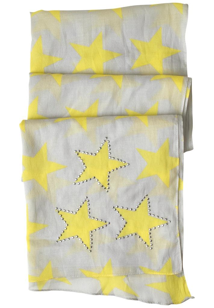 Schal mit Sternenprint