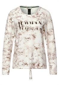 Shirt mit Batik-Print