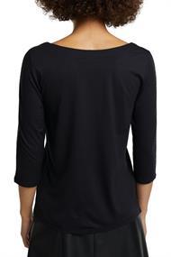 Shirt mit Glitzer aus LENZINGT ECOVEROT