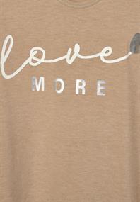 Shirt mit Schimmer-Schrift
