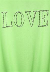 Shirt mit Steinchen-Deko
